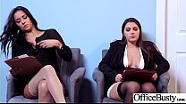 Round Big Tits Girl (Abby Lee Brazil & Valentina Nappi) Get Banged In Office clip-01