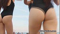 bffs beach bikers foursome ‣ rachel starr fan thumbnail