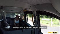 Fake Taxi Sexy Brunette Princess Jas and her big tits fucked under the sun thumbnail