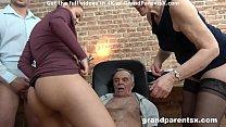 Senior Couple Fucks Hot Teen Couple