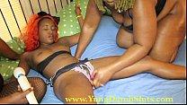 Yung teen slut domminated by black MiLFS