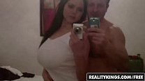 Curvy babe (Shione Cooper) makes a sextape - Reality Kings