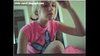 Hot blonde teen on cam