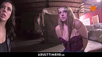 Two Teen Sisters Fucked With Facials By Police Officers For No Jail Time POV