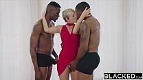 BLACKED Housewife Fucks Two BBCs image