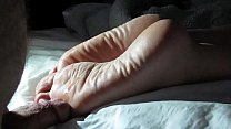 Cumming On Girlfriend's Feet #1