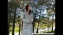 Sexy english girlfriends public nudity and amateur flashing with cute Bryoni