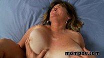 big tit milf gets slammed