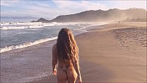 Fantastic scenes from the most beautiful naturism beach in Brazil