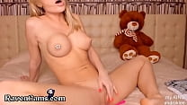 Petite y. Fingering Her Soft Wet Pussy