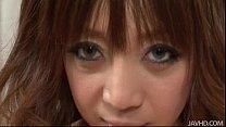 Big titty Mai Serizawa sucks on a hard schlong thumbnail