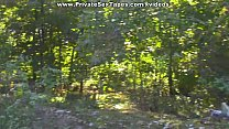 Passionate couple porn scenes in the desolate woods image