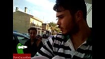 Homemade. Young couple fucking hard in public outside in the street  IV071 preview image