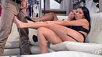 Horny Lingerie models extra fucking hot threesome preview image