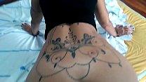 Giving it to the tattoo artist, I got a tattoo. With Melissa Devassa
