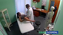 FakeHospital Dirty milf sex addict gets fucked by the doctor preview image