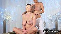 Screenshot Nice Pairs Of L esbian Huge Boobs In Massage R bs In Massage Room