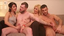 Dating Game Turns Bisexual with Pies pornhub video