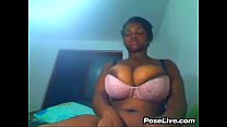 Big Ebony Boobs In A Bra pornhub video