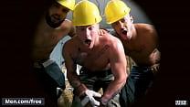 (Thyle Knoxx, Morgan Blake, William Seed, Jason Vario, Joey Mentana) - Men At Work - Trailer preview - Men.com
