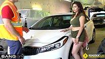 Roadside - Latina titti fucks to get her car back on the road - 69VClub.Com