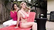 Stepmommy and teacher fucks lucky college boy! - Julianna Vega and Casca Akashova
