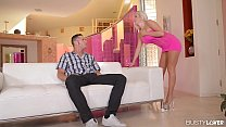 Busty Escort Savannah Stevens cums Hard on a Big Cock
