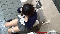 Asian teen in uniform