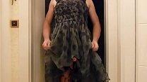 Ich in meinem sexy Spitzenkleidchen von H&M