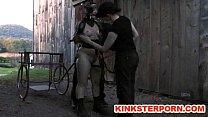 Ponyslave Pervert BDSM Outdoor Training thumbnail