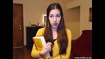 Church girl turns webcam pornstar