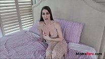 Brunette MILF MOM teaches her SON to treat a girl- Brianna Rose