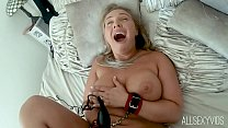 Curvy Girl Beth Suffers Bound Orgasm