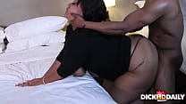 Blowing Her Back Out After Work