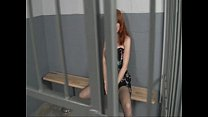 Image: Kendra James - Jerking off in the jail