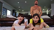 Wesley Woods In Hot Threesome With (Natalie Mars, Korra Del Rio) - Transangels