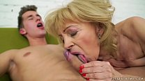 Old lady Szuzanne and her big cocked young lover Vorschaubild