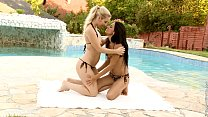 Kady and Karry in a nice lesbian scene by Sapphic Erotica image
