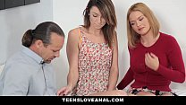 TeensLoveAnal - Teaching My Step-Daughter Anal Sex Preview