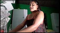 Tigresa slut gives the cusinho to chewed friend and gets a lot of cum