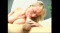 Dirty blonde opens wet pussy for garden fuckfest