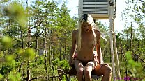 PetiteHDPorn - Tiny blonde gets a mouthful of cum preview image