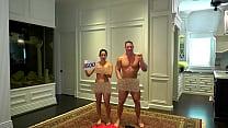 Nude 500K celebration! John Cena and Nikki Bella stay true to their promise! Vorschaubild