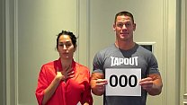 Nude 500K celebration! John Cena and Nikki Bella stay true to their promise! Preview