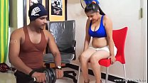 desimasala.co - Tharki gym trainer romance with booby aunty