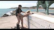 Hot blonde slut in public disgrace sex thumbnail