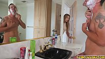 Blair Williams suck her step dads cock