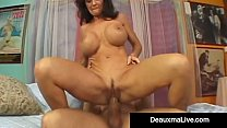 Texas Cougar Deauxma Squirts From Her Creaming Hot Pussy! video