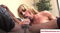 Amy Brooke assfucking his black cock thumbnail
