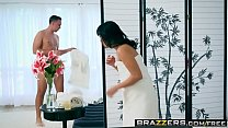Brazzers - Dirty Masseur -  Curious Cock Massager scene starring Ayumu Kase and Keiran Lee